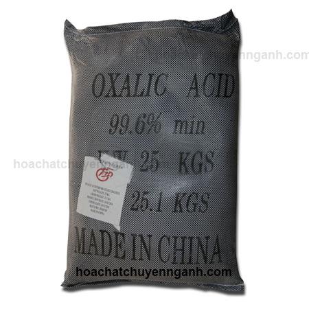 Oxalic Acid 99.6% C2H2O4 - Trung Quốc