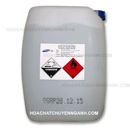 Acid Acetic CH3COOH 99.85% - Hàn Quốc