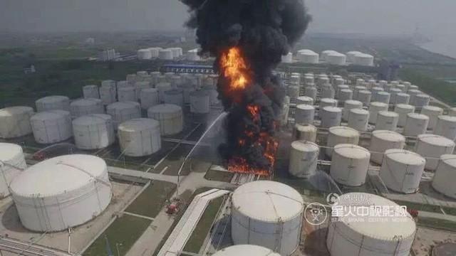Nổ lớn ở nhà máy hóa chất Trung Quốc