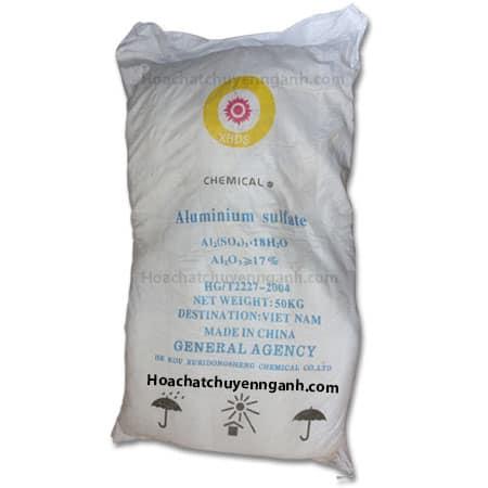 Phèn đơn ( Nhôm Sulfate ) - Aluminium sulfate Al2(SO4)3
