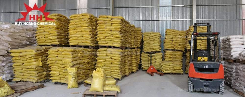 Polyaluminium Chloride PAC Trung Quốc trong kho hàng