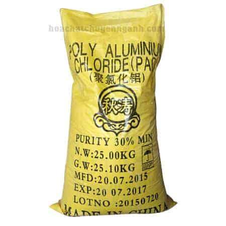 Polyaluminium chloride PAC - Trung Quốc