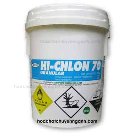 Chlorine Nippon 70% - Nhật sử dụng trong ngành xử lý nước thải công nghiệp