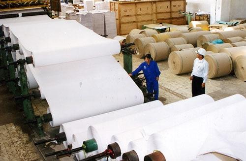 Những phát triển trong lịch sử sản xuất giấy