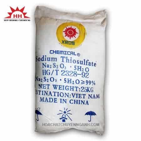 Natri thiosunfat (Sodium thiosulfate) Na2S2O3 - Việt Nam
