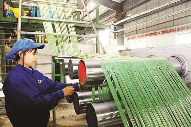 Ứng dụng của Acid Acetic CH3COOH trong ngành dệt nhuộm